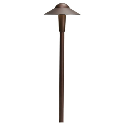Kichler Lighting Kichler Lighting Textured Architectural Bronze LED Path Light 15870AZT30R
