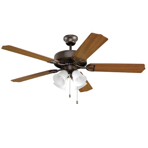 Fanimation Fans Fanimation Fans Aire Decor Oil-Rubbed Bronze Ceiling Fan with Light BP215OB1