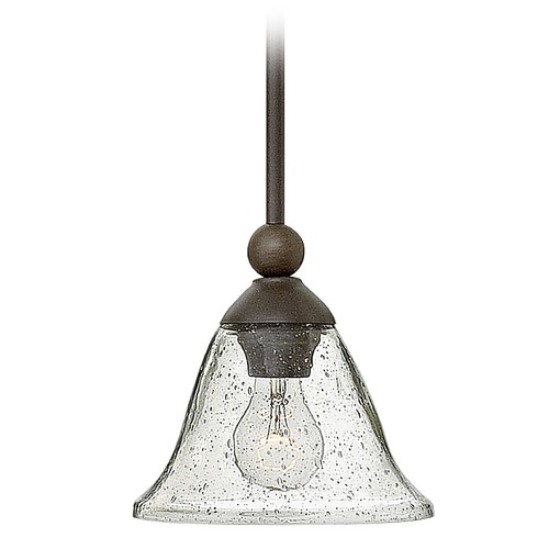 Hinkley Lighting Hinkley Lighting Bolla Olde Bronze Pendant Light with Urn Shade 4667OB-CL