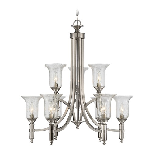 Savoy House Savoy House Lighting Trudy Satin Nickel Chandelier 1-7131-9-SN