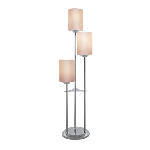 Lite Source Lighting Lite Source Bess Brushed Nickel Table Lamp with Cylindrical Shade LSF-20700BN