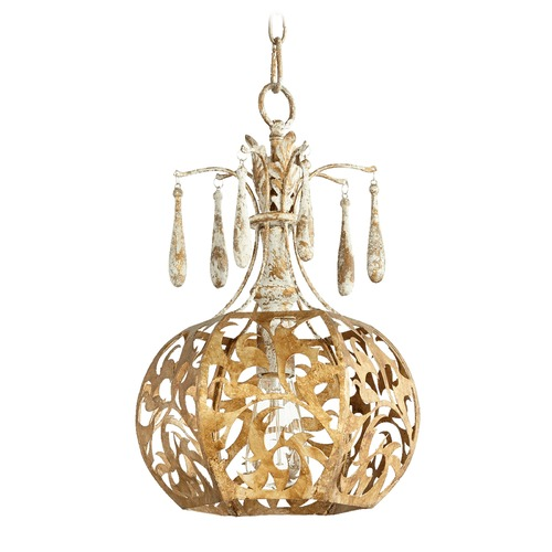 Quorum Lighting Quorum Lighting Leduc Florentine Gold Pendant Light 8356-61
