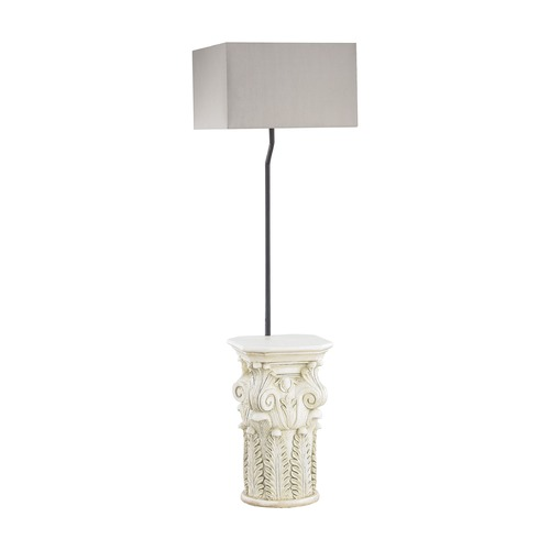 Dimond Lighting Dimond Patras Antique White Outdoor Floor Lamp D3101