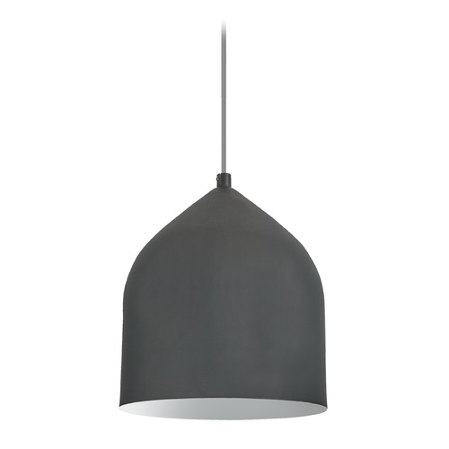 Kuzco Lighting Modern Graphite and Silver LED Mini-Pendant 3000K 399LM PD9108-GH/SV
