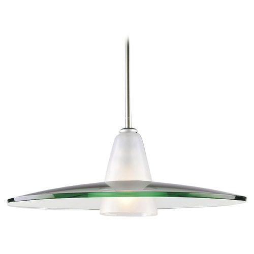 Progress Lighting Progress Modern Pendant Light with Clear Glass P5012-09