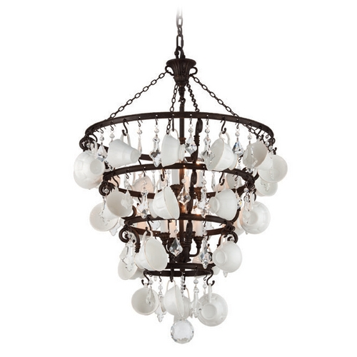 Troy Lighting Troy Lighting Barista Vintage Bronze Pendant Light F3825