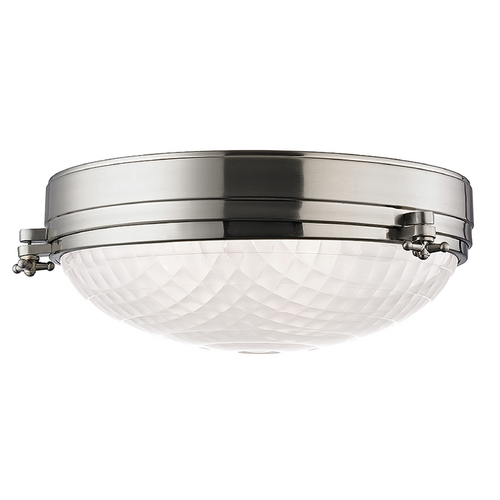 Hudson Valley Lighting Hudson Valley Lighting Belmont Satin Nickel Flushmount Light 8017-SN