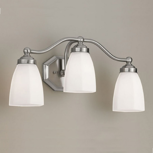 Norwell Lighting Norwell Lighting Trevi Brush Nickel Bathroom Light 8320L-BN-HXO