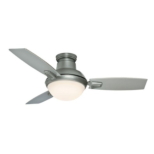 Casablanca Fan Co Casablanca Fan Co Verse Satin Nickel LED Ceiling Fan with Light 59155