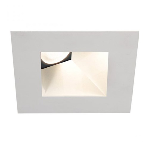 WAC Lighting WAC Lighting Square White 3.5-Inch LED Recessed Trim 2700K 825LM 38 Degree HR3LEDT918PF927WT