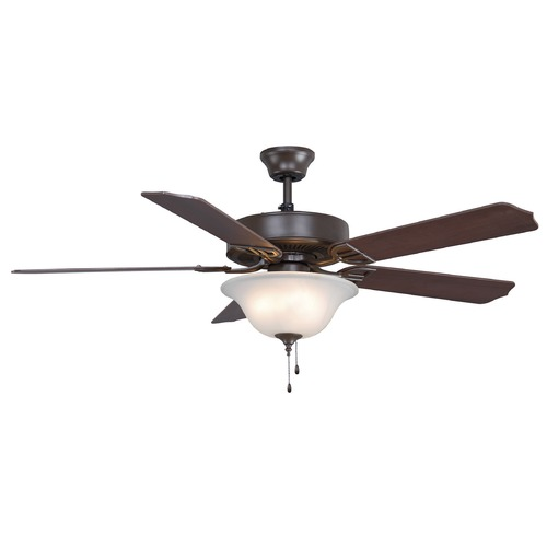 Fanimation Fans Fanimation Fans Aire Decor Oil-Rubbed Bronze Ceiling Fan with Light BP225OB1