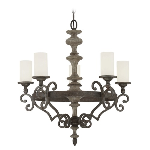 Savoy House Savoy House Lighting Strathmore Century Bronze Chandelier 1-740-5-09