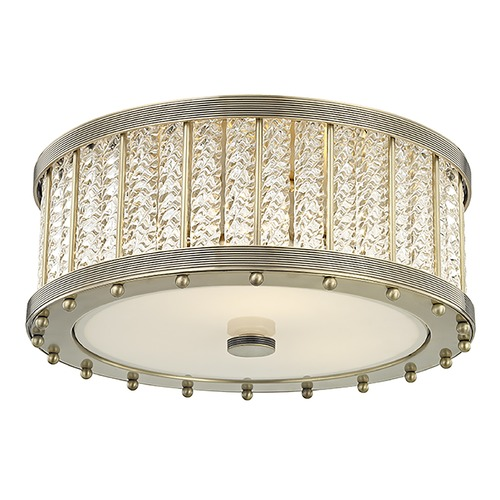 Hudson Valley Lighting Hudson Valley Lighting Shelby Aged Brass Flushmount Light 8116-AGB