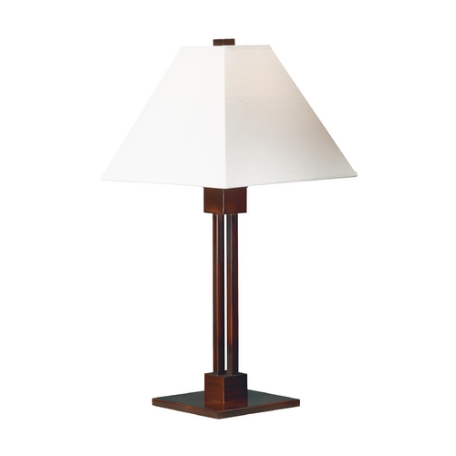 Kenroy Home Lighting Modern Table Lamp in Bronze Finish 31966BRZ