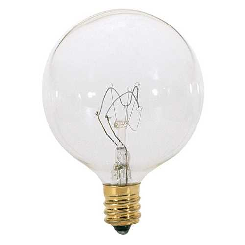 Satco Lighting 25-Watt Candelabra Light Bulb A3922
