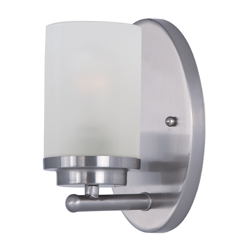 Maxim Lighting Maxim Lighting Corona Satin Nickel Sconce 10211FTSN