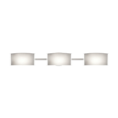 Besa Lighting Besa Lighting Jodi Satin Nickel Bathroom Light 3WM-673006-SN
