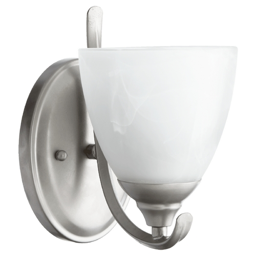 Quorum Lighting Quorum Lighting Powell Classic Nickel Sconce 5508-1-64