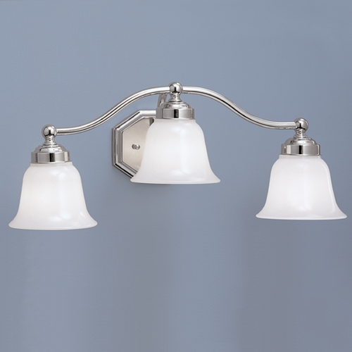 Norwell Lighting Norwell Lighting Trevi Chrome Bathroom Light 8320L-CH-DO