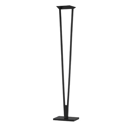 Sonneman Lighting Sonneman V Satin Black LED Torchiere Lamp   4674.25