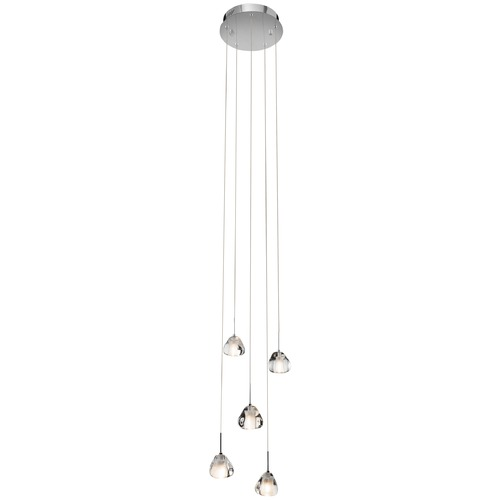 Elan Lighting Elan Lighting Eisa Chrome Multi-Light Pendant 83047