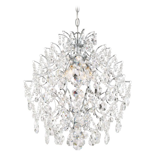 Minka Lavery Minka Lavery Isabella's Crown Chrome Crystal Chandelier 3156-77