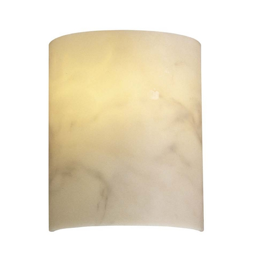 Metropolitan Lighting Sconce Wall Light with Alabaster Glass N2034