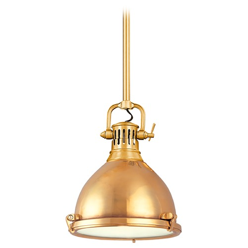 Hudson Valley Lighting Pendant Light in Aged Brass Finish 2211-AGB