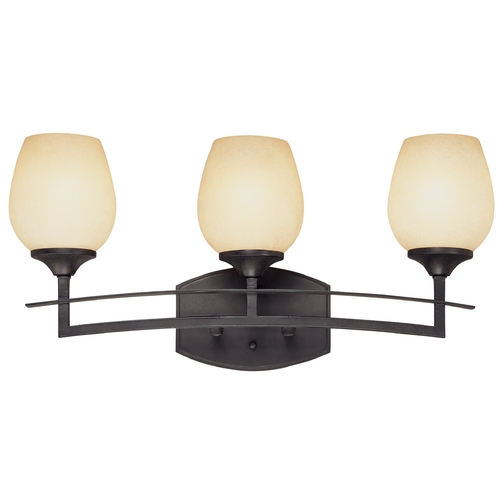 Design Classics Lighting Three-Light Bathroom Light 2738-34