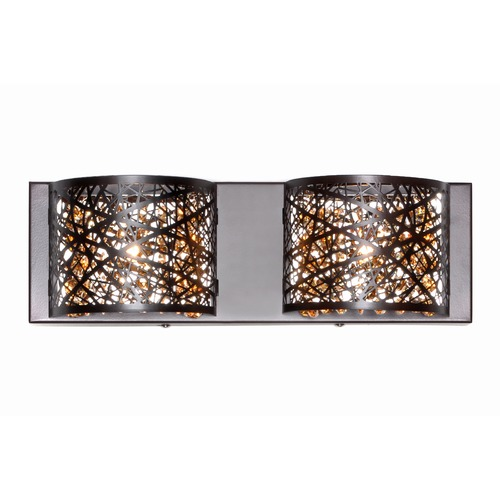 ET2 Lighting Inca Bronze Bathroom Light E21315-10BZ