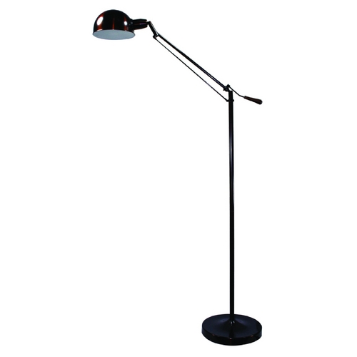 Verilux Lighting Adjustable Pharmacy Task / Reading / Hobby Floor Lamp in Bronze Finish VF08AB1