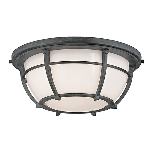 Hudson Valley Lighting Hudson Valley Lighting Conrad Aged Zinc Flushmount Light 4112-AZ