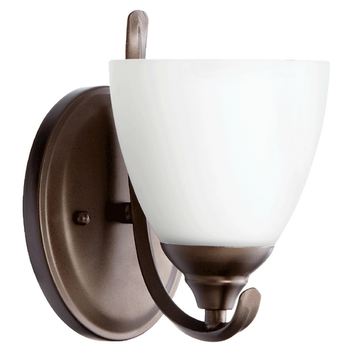 Quorum Lighting Quorum Lighting Powell Oiled Bronze Sconce 5508-1-86