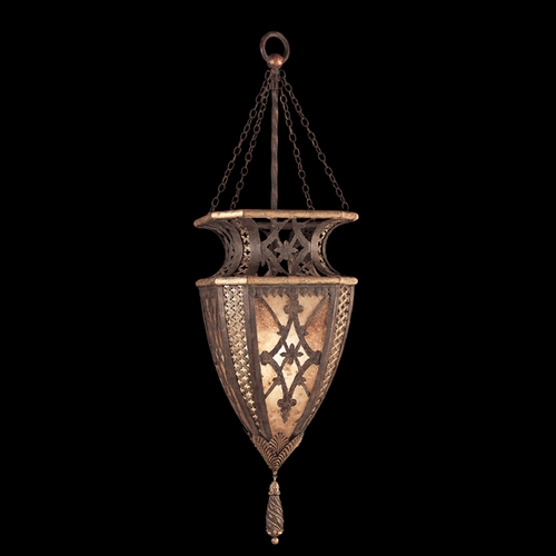 Fine Art Lamps Fine Art Lamps Villa 1919 Umber with Gilded Accents Pendant Light 155749ST