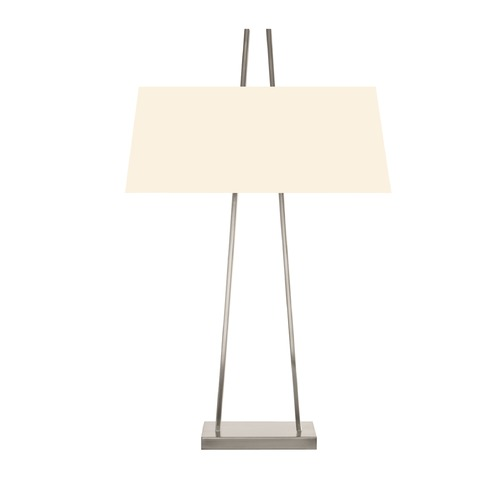 Sonneman Lighting Sonneman A Satin Nickel 2 Light Table Lamp   4680.13