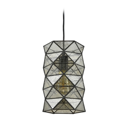 Elk Lighting Elk Lighting Tetra Oil Rubbed Bronze Mini-Pendant Light with Cylindrical Shade 72121-1