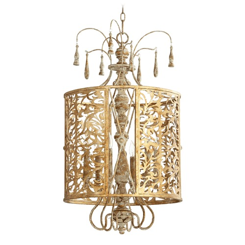 Quorum Lighting Quorum Lighting Leduc Florentine Gold Pendant Light 8357-6-61