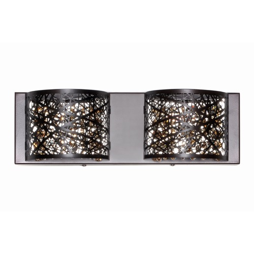 ET2 Lighting Inca Polished Chrome Bathroom Light E21315-10PC