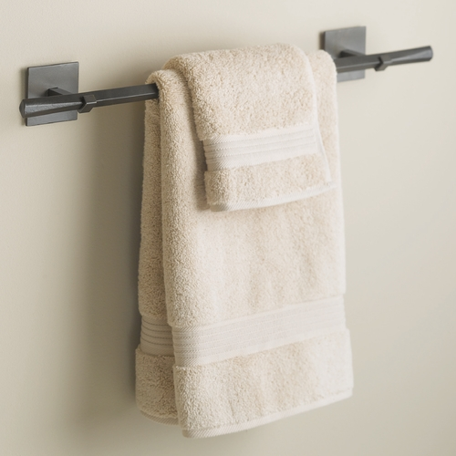 Hubbardton Forge Lighting Hubbardton Forge Lighting Beacon Hall Dark Smoke Towel Bar 843010-07