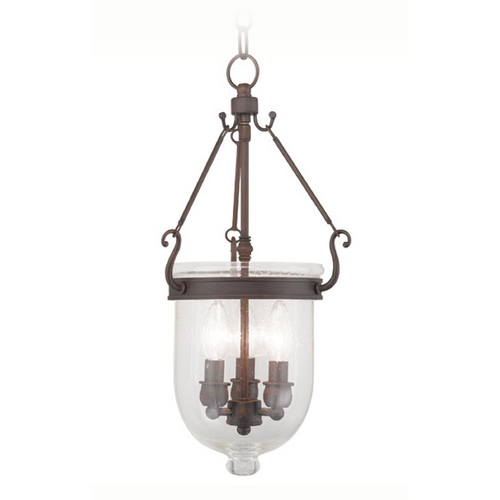 Livex Lighting Livex Lighting Jefferson Imperial Bronze Pendant Light 5083-58