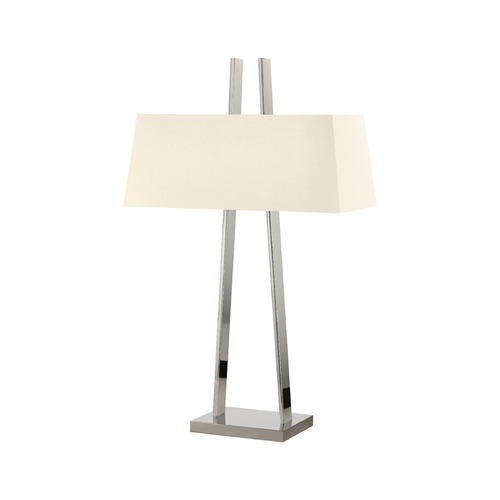 Sonneman Lighting Sonneman A Polished Nickel 2 Light Table Lamp 4680.35