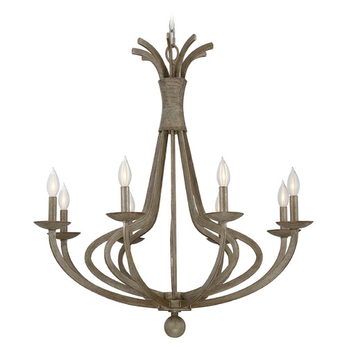 Savoy House Savoy House Lighting Rosette Chateau Linen Chandelier 1-760-8-12