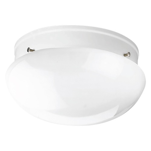 Progress Lighting Progress Lighting Fitter White Flushmount Light P3410-30WB