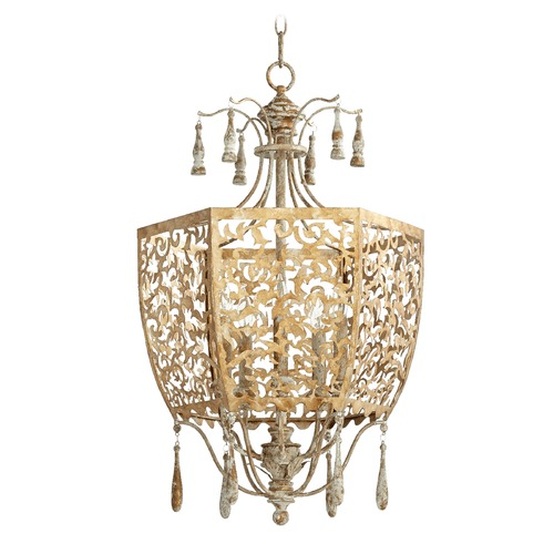 Quorum Lighting Quorum Lighting Leduc Florentine Gold Pendant Light 8358-5-61
