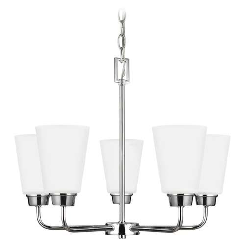 Sea Gull Lighting Sea Gull Lighting Kerrville Chrome Mini-Chandelier 3115205-05