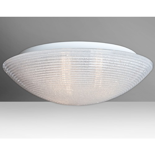 Besa Lighting Besa Lighting Glitter Flushmount Light 9117GLC