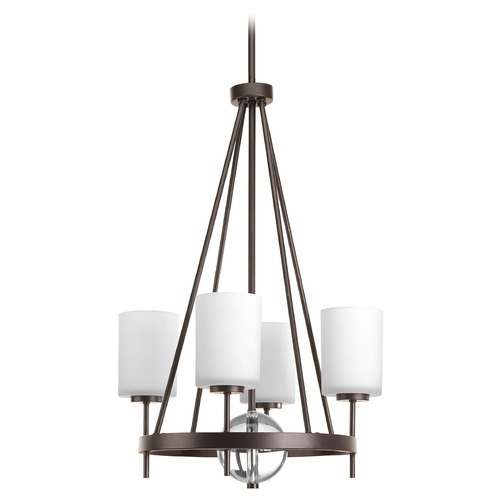 Progress Lighting Progress Lighting Compass Antique Bronze Pendant Light with Cylindrical Shade P3629-20