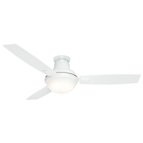 Casablanca Fan Co Casablanca Fan Co Verse Fresh White LED Ceiling Fan with Light 59158