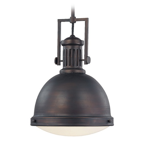 Savoy House Savoy House English Bronze Pendant Light with Bowl / Dome Shade 7-730-1-13
