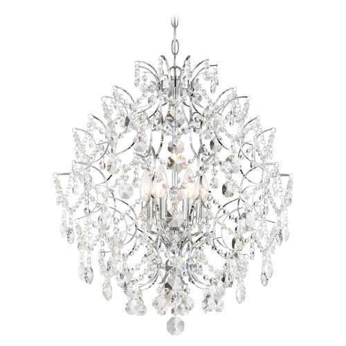 Minka Lavery Minka Lavery Isabella's Crown Chrome Crystal Chandelier 3157-77